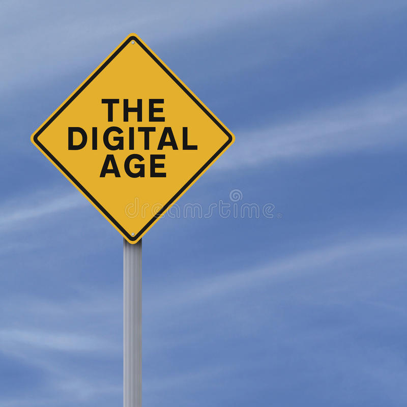 Het Digitale tijdperk royalty-vrije stock foto