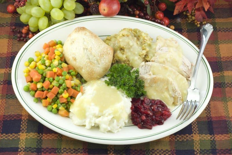 Het Diner van de dankzegging stock afbeelding