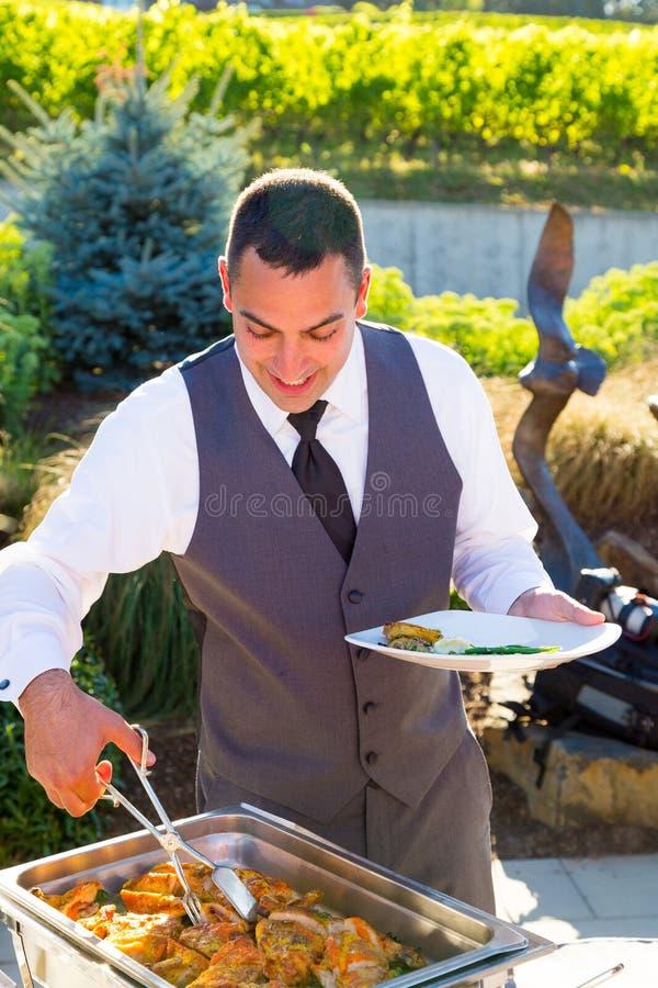 Het Diner van de huwelijksontvangst stock fotografie