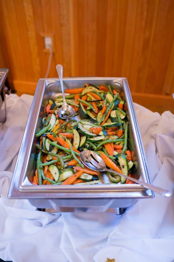 Het Diner van het huwelijksbuffet royalty-vrije stock foto