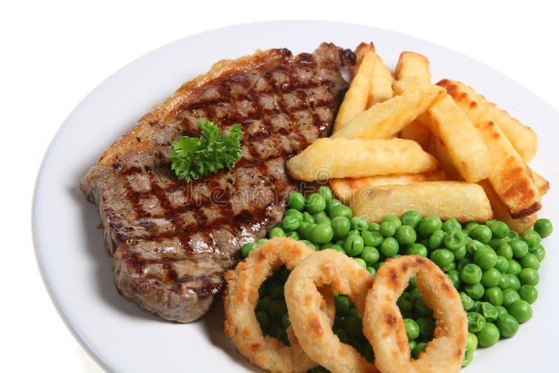 Het Diner van het lapje vlees royalty-vrije stock afbeelding