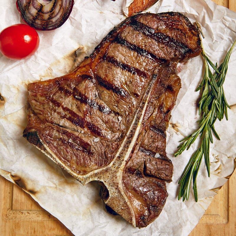 Het diner van het rundvleeslapje vlees royalty-vrije stock afbeelding