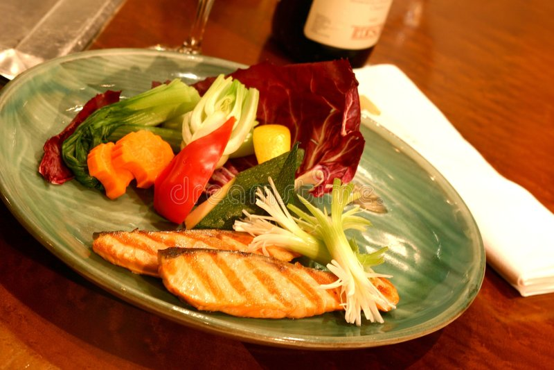Het Diner van sushi stock afbeeldingen