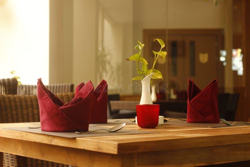 Het dineren Restaurant royalty-vrije stock fotografie