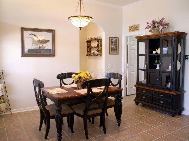 Het dineren room.jpg van de middenklasse royalty-vrije stock foto