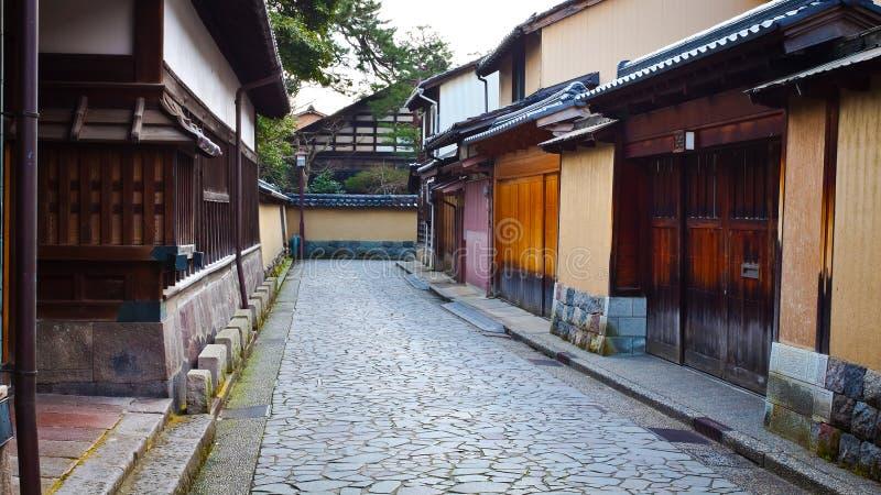 Het District van de Samoeraien van Nagamachi stock fotografie