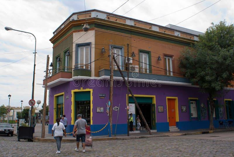 Het district van Gr Caminito stock foto's