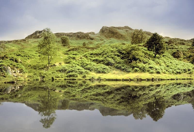 Het district van het meer stock afbeeldingen