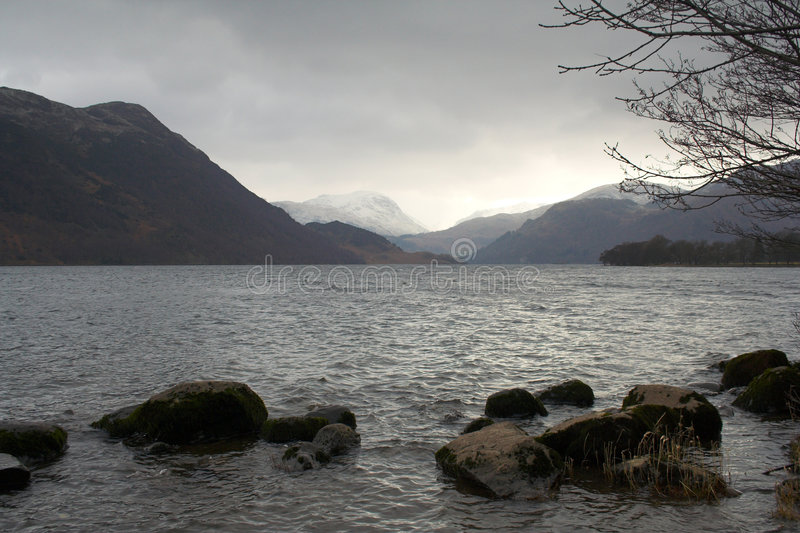 Het District van het meer royalty-vrije stock foto