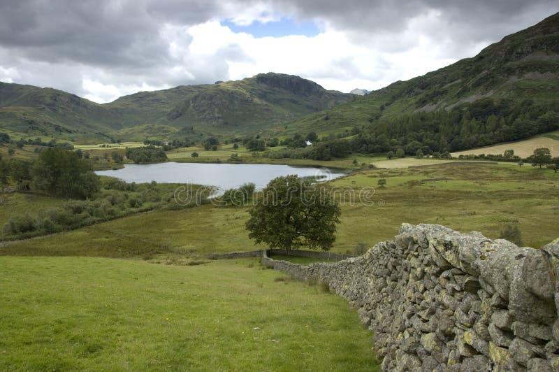 Het district van het meer, het UK stock afbeeldingen