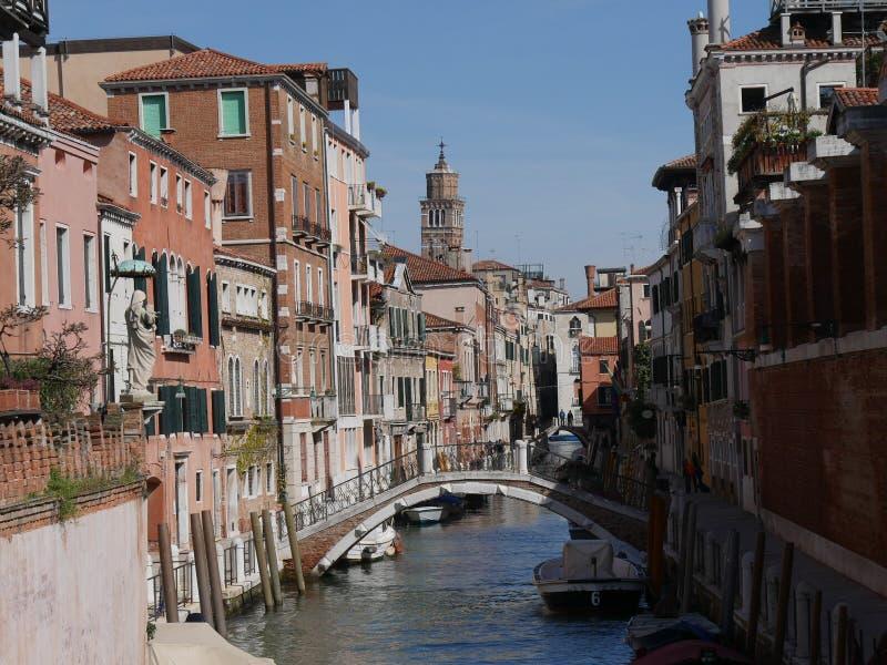 Het district van Venetië - Dorsoduro- royalty-vrije stock afbeelding