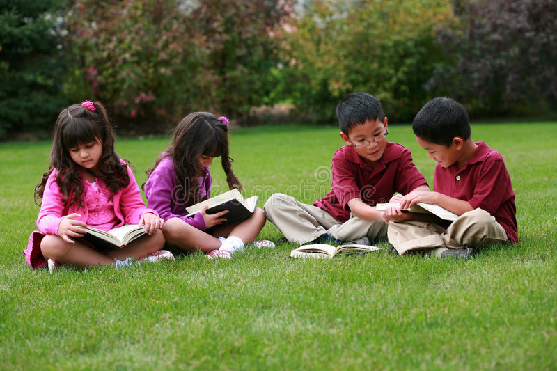 Het diverse Lezen van Jonge geitjes