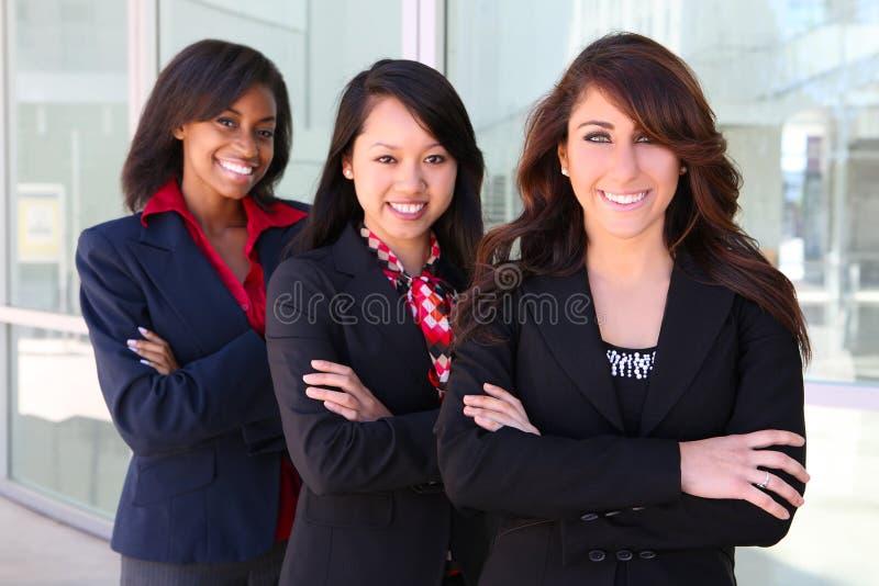 Het diverse Team Bedrijfs van de Vrouw stock foto