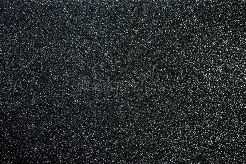 Het document schittert Zwarte texturen voor achtergrond stock afbeeldingen