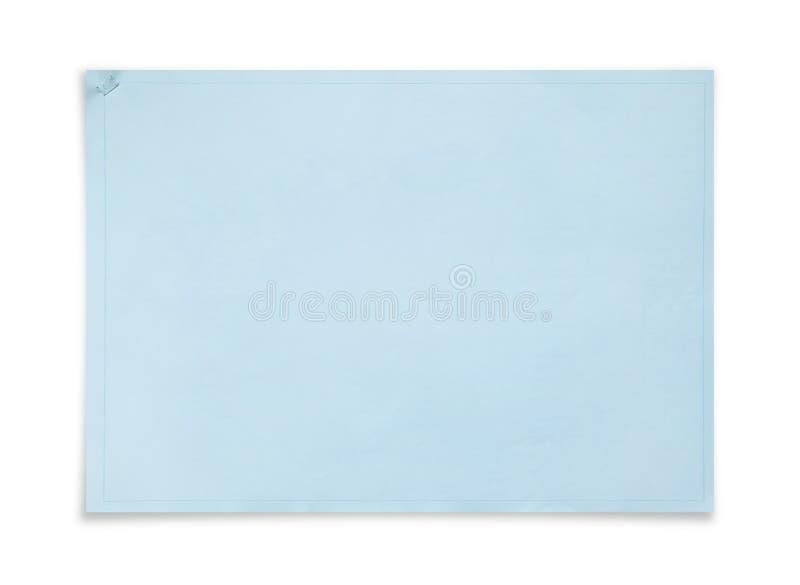 Het document van de blauwdrukdekking achtergrond Boekbindmiddel van wi van de projectpagina stock afbeeldingen