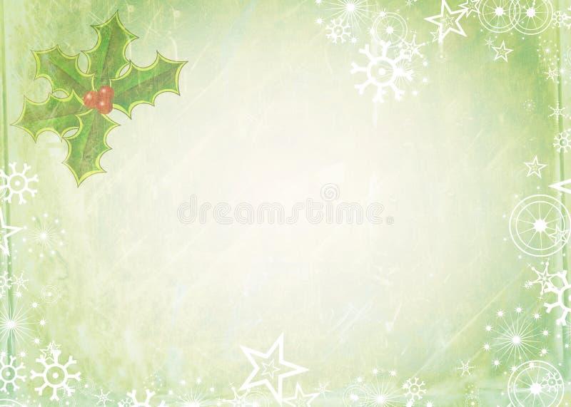 Het Document van de Kerstmisnota vector illustratie