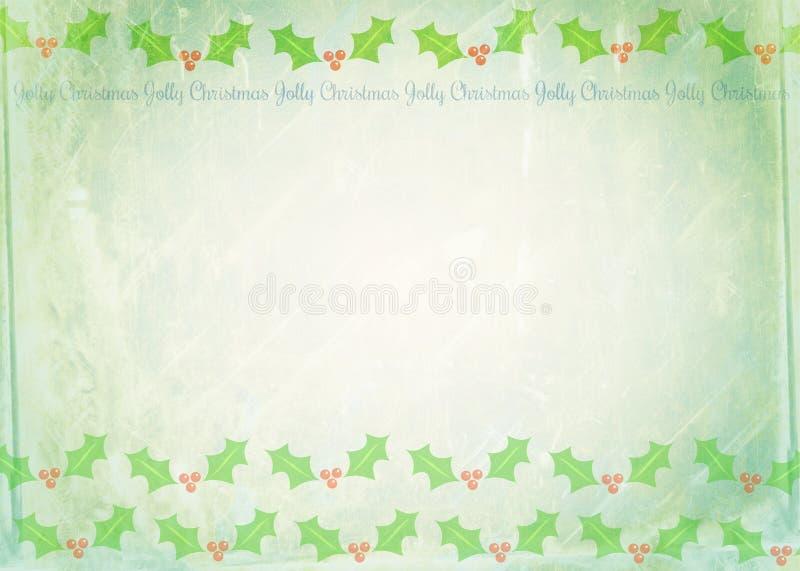 Het Document van de Kerstmisnota royalty-vrije illustratie