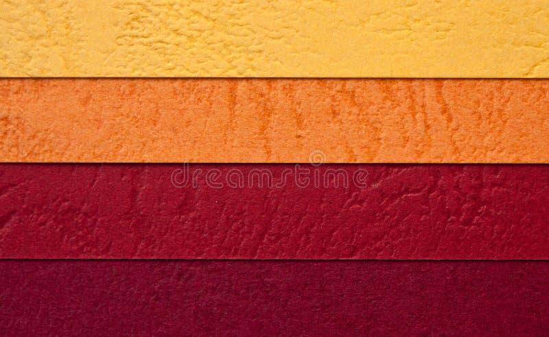 Het document van de kleur textuur royalty-vrije stock foto's