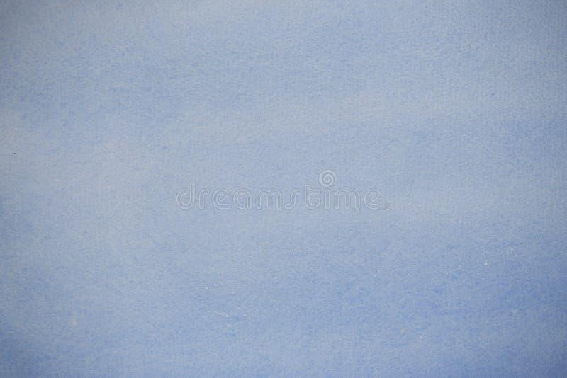 Het document van de kunstenaar met blauwe was stock afbeelding