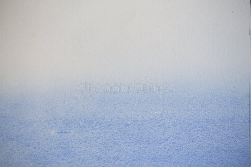 Het document van de kunstenaar met gediplomeerde blauwe was royalty-vrije stock fotografie