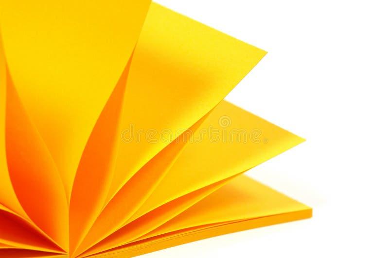 Het document van de nota stock foto's
