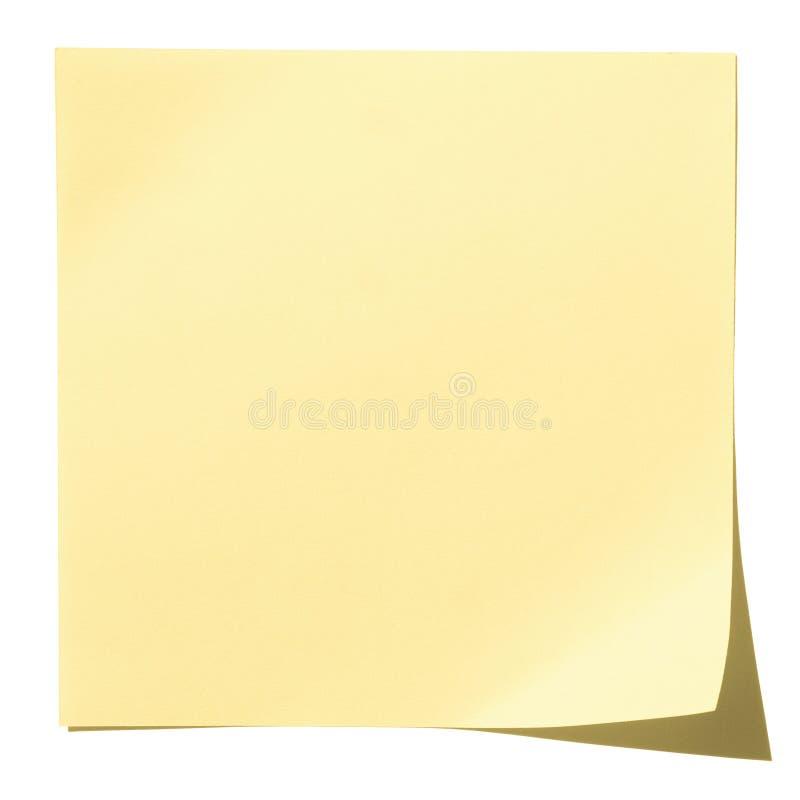 Het document van de nota royalty-vrije stock afbeeldingen