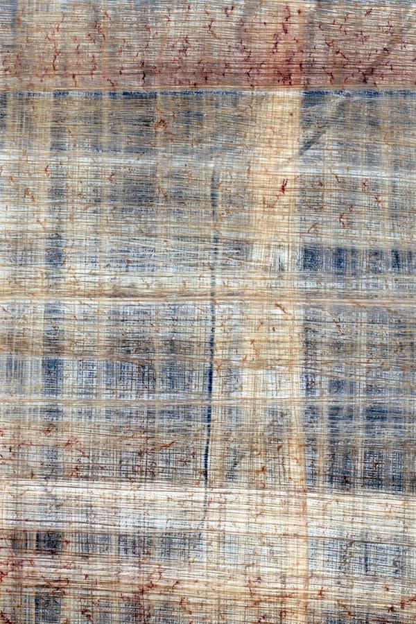 Het document van de papyrus stock afbeeldingen