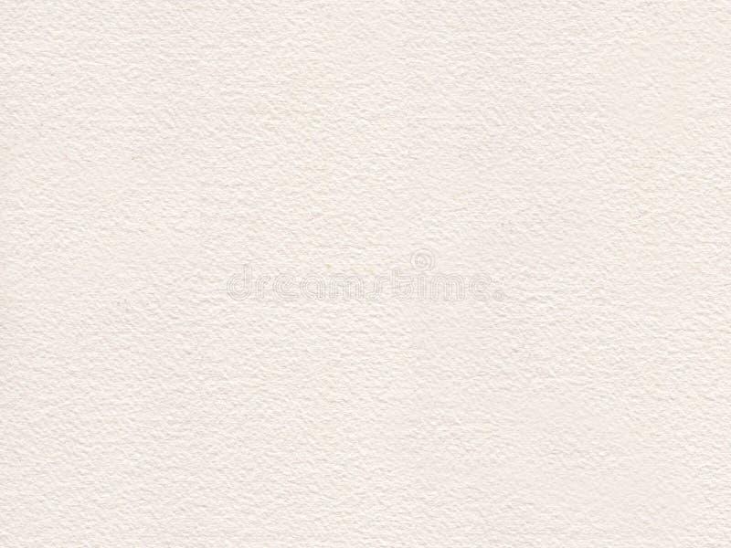 Het document van de waterkleur textuur, ruw met de hand gemaakt document royalty-vrije illustratie