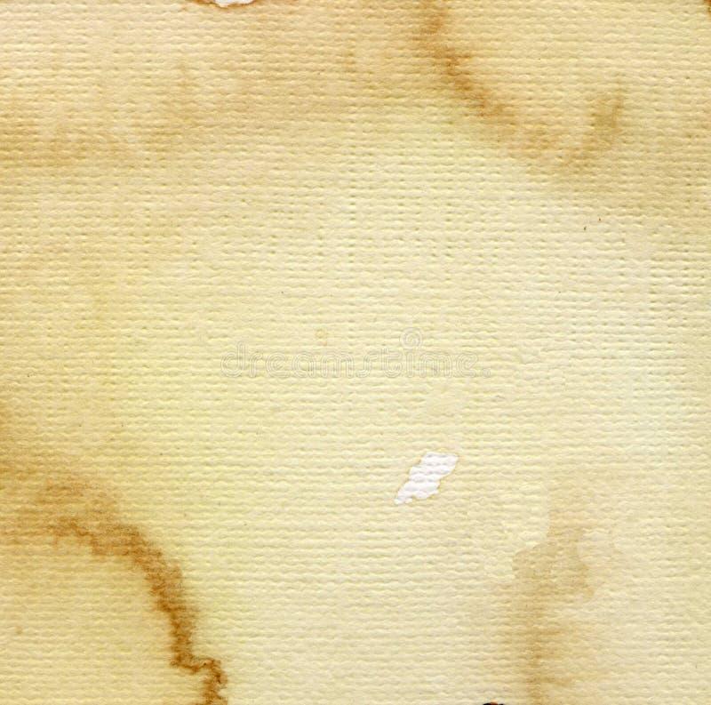 Het document van de waterverf stock afbeeldingen