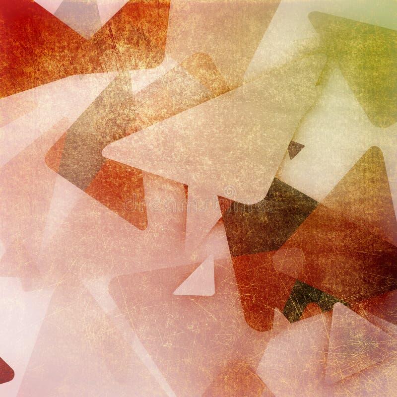 Het document van Grunge retro uitstekende textuurachtergrond royalty-vrije illustratie
