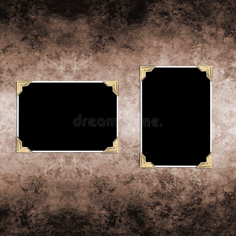 Het document van Grungey stock foto's