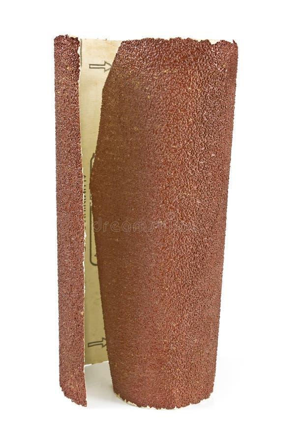 Het document van het amaril - schuurpapier royalty-vrije stock foto