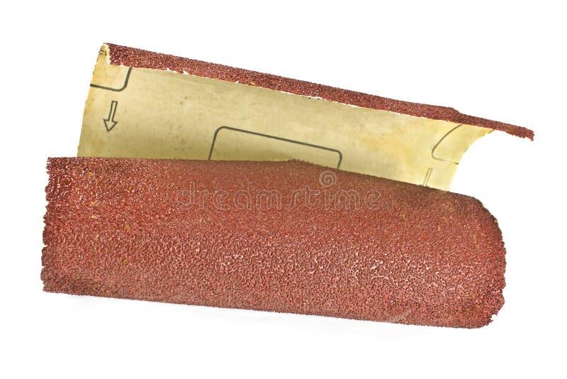Het document van het amaril - schuurpapier stock foto