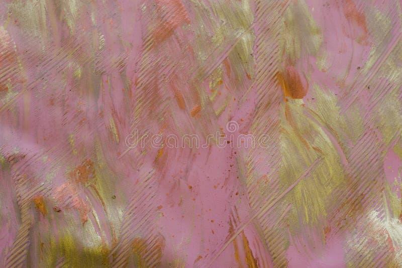 Het Document van het deeg: Roze en Grijze Achtergrond stock afbeelding