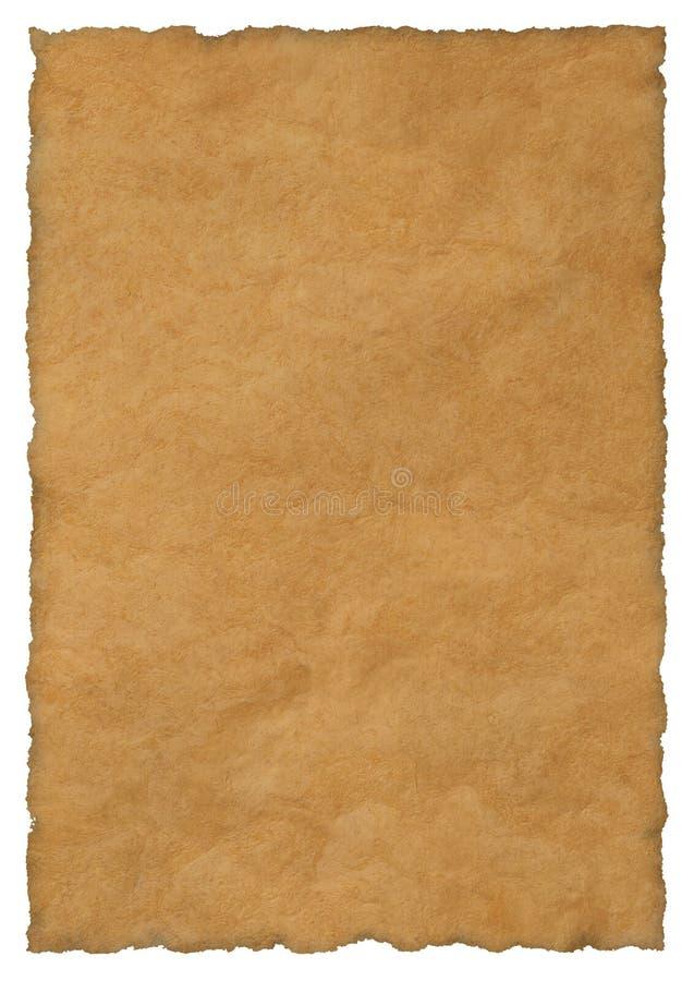 Het document van het perkament achtergrond stock afbeelding