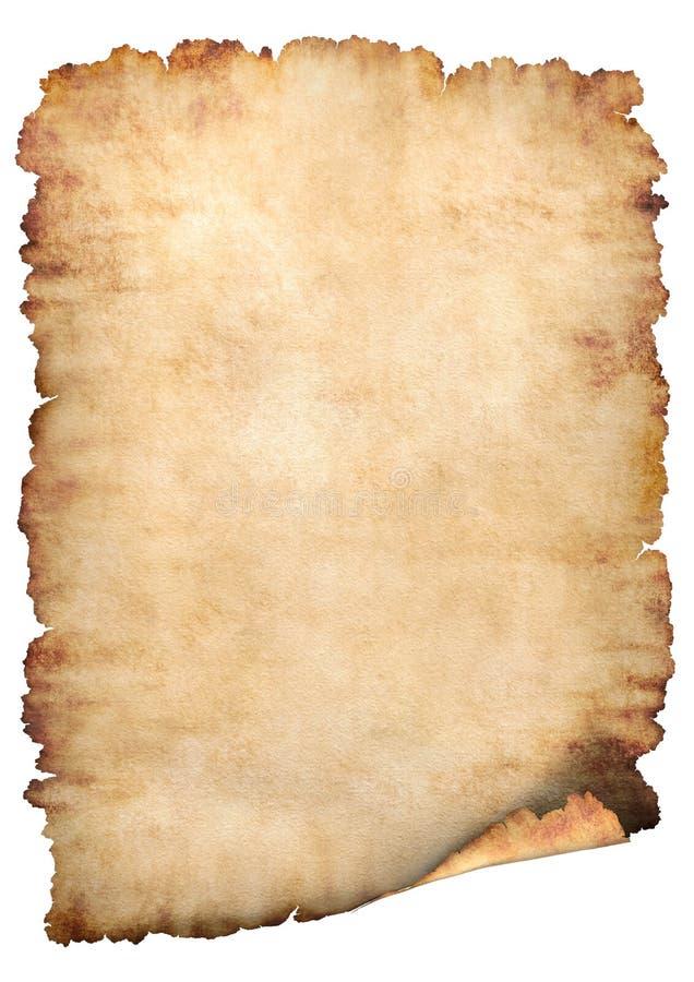 Het document van het perkament achtergrond