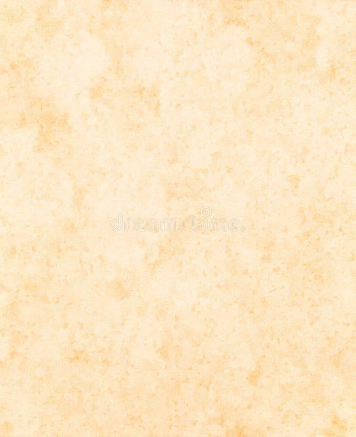 Het document van het perkament textuur stock afbeeldingen