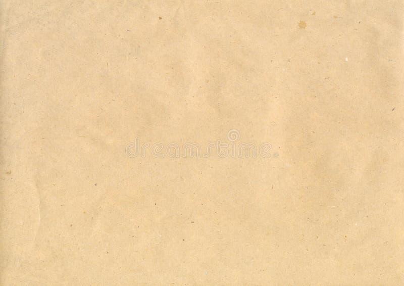 Het document van kraftpapier stock fotografie
