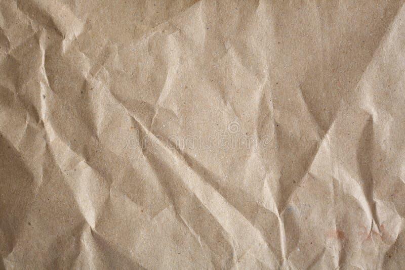 Het document van kraftpapier royalty-vrije stock foto