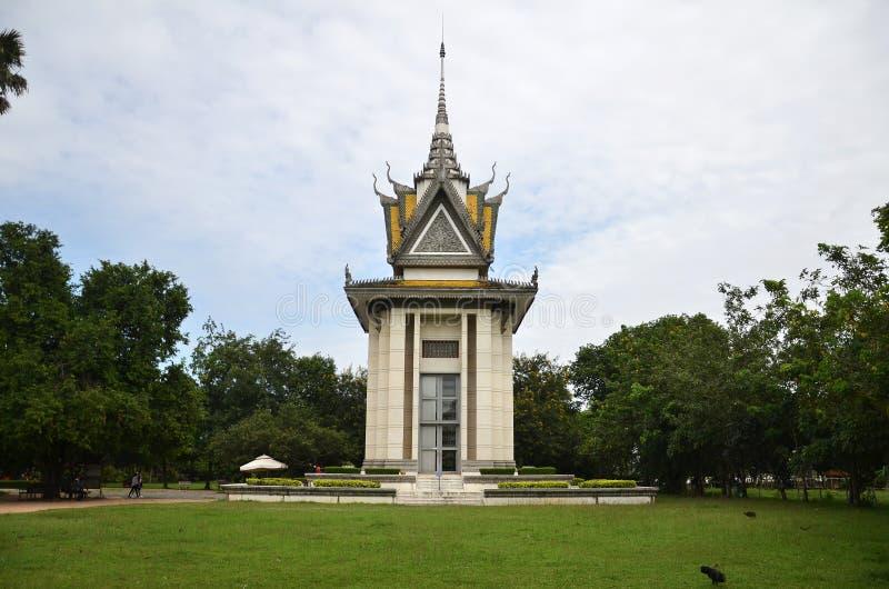 Het Dodende Gebied van Kambodja Phnom Pench stock fotografie