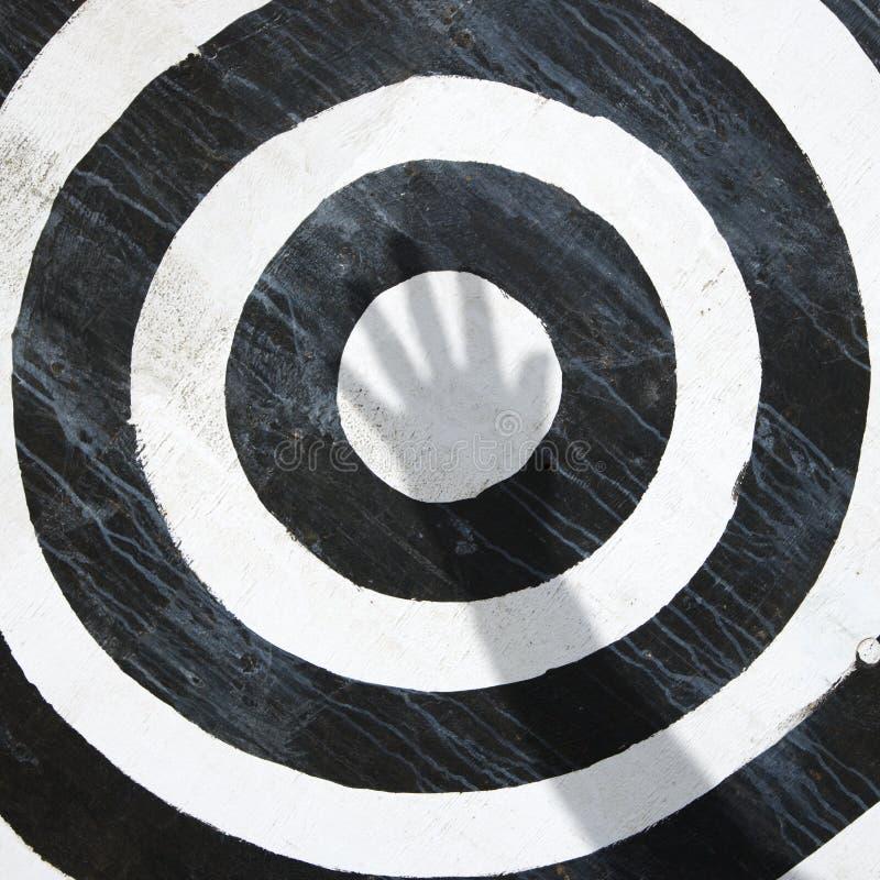 Het doel van Bullseye. royalty-vrije stock foto's