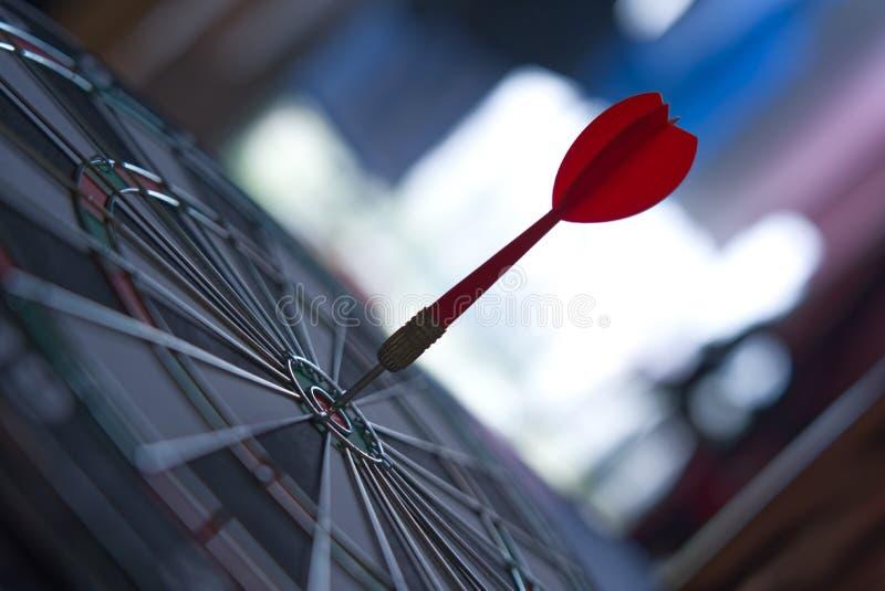 Het doel van het de concurrentiedoel van zaken en financi?n met samenvatting stock foto's