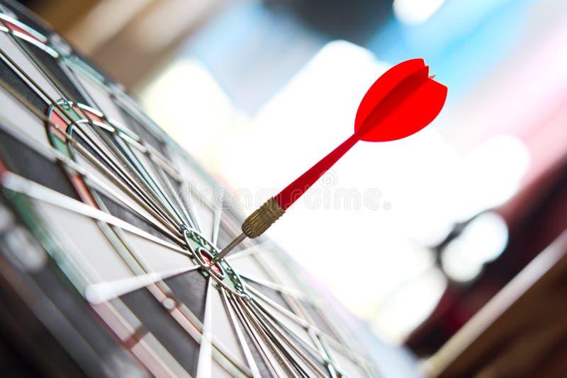 Het doel van het de concurrentiedoel van zaken en financi?n met abstracte achtergrond stock afbeeldingen