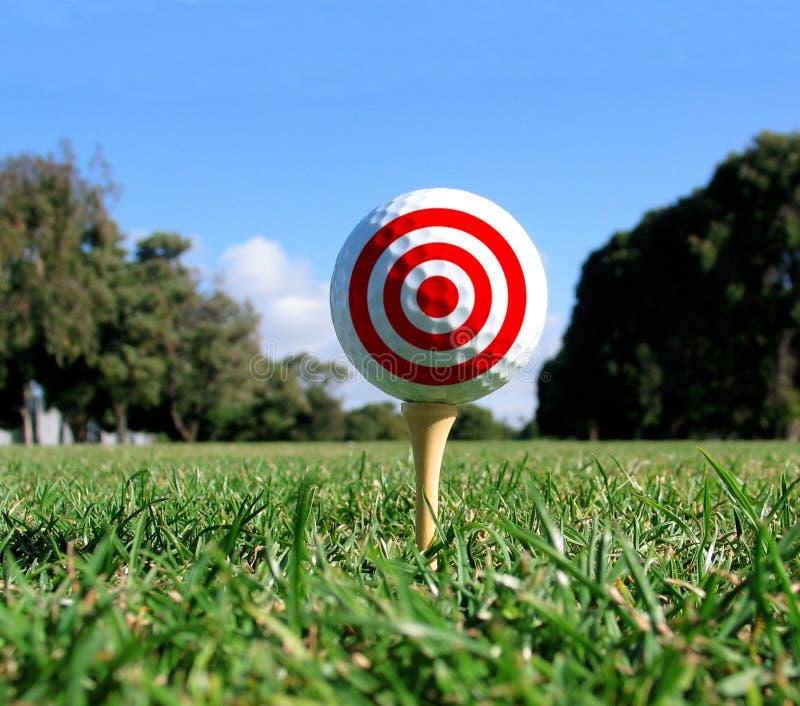 Het Doel van het Concept van het golf royalty-vrije stock afbeelding