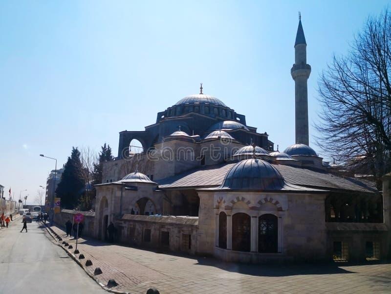 Het Dolmabahce-paleis in Istanboel, 30 Turkije-Maart, 2018: Gu royalty-vrije stock afbeeldingen