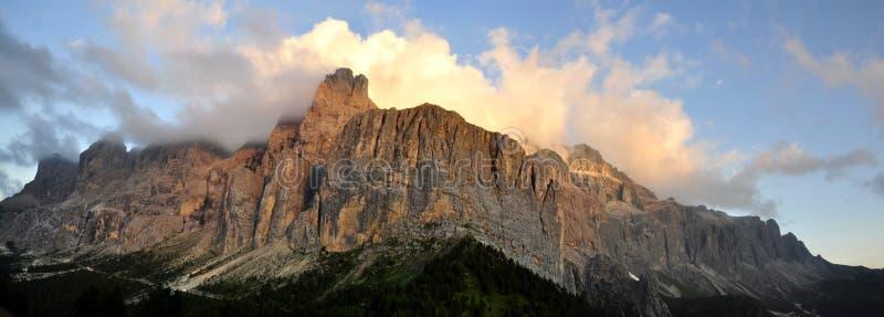 Het Dolomiet van het landschap royalty-vrije stock afbeeldingen
