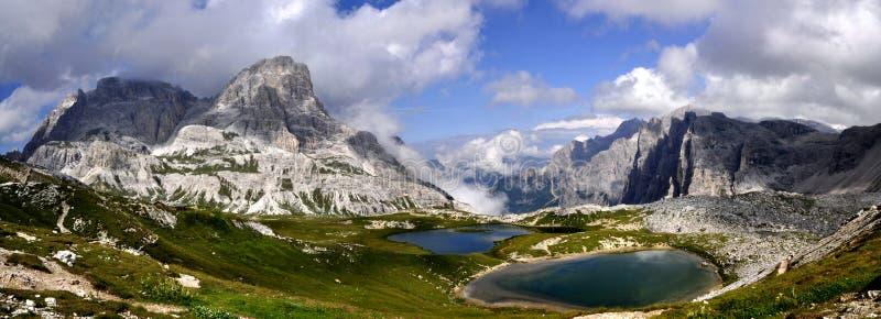 Het Dolomiet van het landschap royalty-vrije stock afbeelding