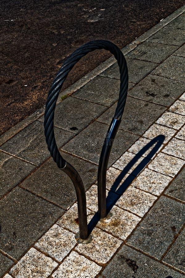 Het donkere apparaat van het fietssluiten royalty-vrije stock afbeeldingen