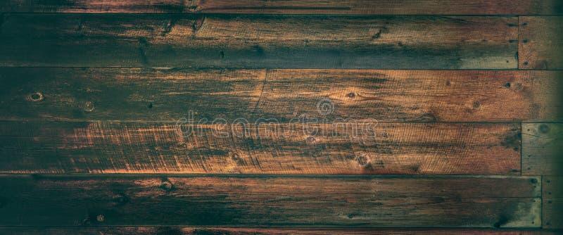 Het donkere Doorstane Uitstekende Effect van Cedar Wooden Background With Warm stock afbeeldingen