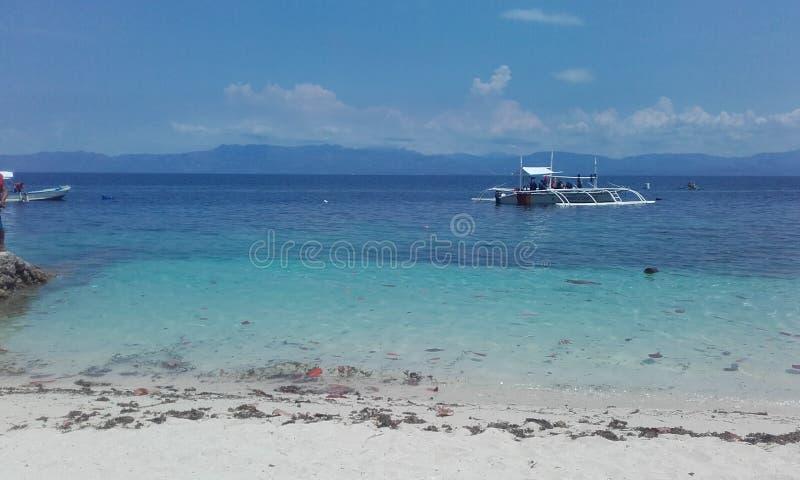 Het doorzichtige eiland Filippijnen van watercebu royalty-vrije stock fotografie